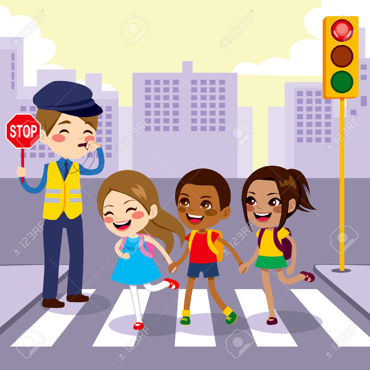 29281148-three-cute-little-school-children-students-crossing-street-walking-through-pedestrian-crossing-with-stock-vector